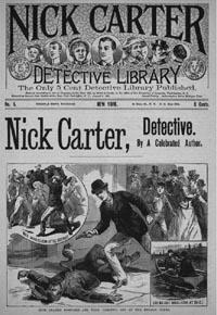 Ник Картер - Человек-вампир