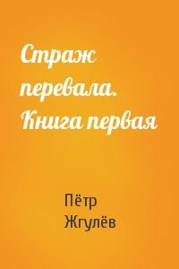 Пётр Жгулёв - Страж перевала. Книга первая