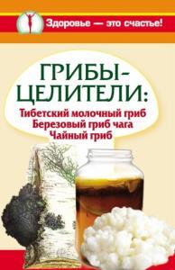 Грибы-целители. Тибетский молочный гриб. Березовый гриб чага. Чайный гриб