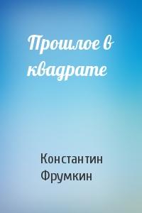 Константин Фрумкин - Прошлое в квадрате