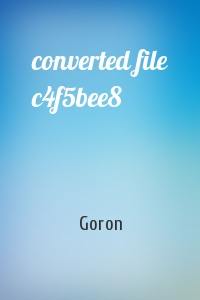 Goron - converted file c4f5bee8