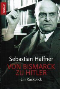 От Бисмарка к Гитлеру