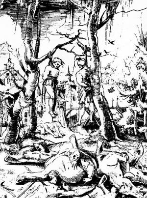 О «тридцатилетних войнах» в историческом ландшафте