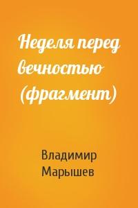 Владимир Марышев - Неделя перед вечностью (фрагмент)