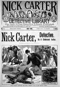 Ник Картер - Борьба за трон